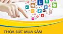 Mua sắm online trên hàng trăm website với thẻ PVcomBank