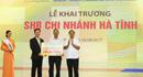 SHB khai trương chi nhánh mới tại Hà Tĩnh