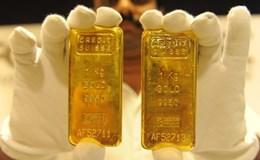 """Cuối tuần, giá vàng """"tuột xích"""", giảm gần 100.000 đồng/lượng"""