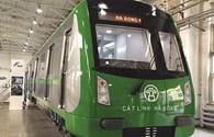 Hé lộ hình ảnh tàu mẫu đường sắt Cát Linh - Hà Đông