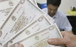 Huy động 6.340 tỉ đồng trái phiếu Chính phủ