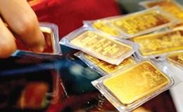 Giá vàng đang lao dốc sau khi tăng vọt đạt đỉnh của 5 tháng