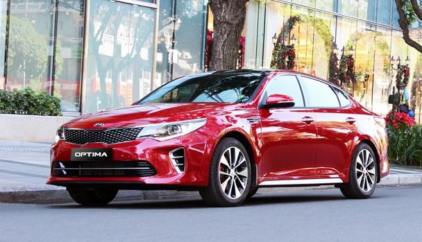 Kia Optima, lựa chọn hấp dẫn cho phân khúc sedan hạng trung cao cấp. Ảnh: P.V