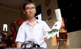 """Dự án """"Cánh tay robot cho người khuyết tật"""": Cần hoàn thiện thêm để đưa ra thị trường"""