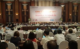 """Diễn đàn Kinh tế Việt Nam năm 2017: Gỡ """"nút thắt"""" để tăng trưởng 6,7% GDP"""
