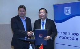 """Việt Nam """"bắt tay"""" với  Israel - cường quốc về KHCN và đổi mới sáng tạo"""