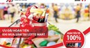 Hoàn tiền lên đến 100% cho chủ thẻ tín dụng Maritime Bank khi mua sắm tại Lotte Mart