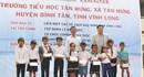 """Khánh thành """"Ngôi trường mơ ước"""" thứ 8 ở Vĩnh Long"""