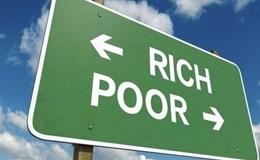 8 người giàu nhất thế giới sở hữu tài sản bằng 3,6 tỷ người