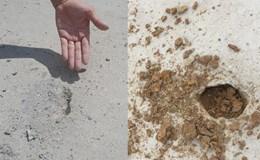 """Đường """"tráng xi măng trên cát"""" ở Bắc Ninh - Nhà thầu nói chỉ là tai nạn!?"""