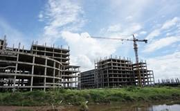 """Cận cảnh dự án bệnh viện 850 tỉ đồng nguy cơ """"chết yểu"""" ở Nam Định"""