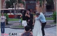 Bất ngờ với những tấm ảnh minh oan cho clip Kiss Cam