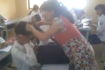 Đình chỉ giảng dạy cô giáo chửi tục, đánh học sinh bôm bốp ở Quảng Ninh