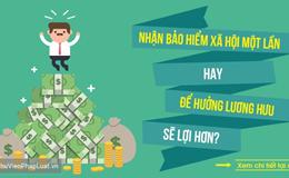 23 năm làm việc, hưởng BHXH một lần được bao nhiêu tiền?