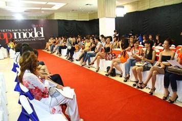 Vietnam's Next Top Model 2012 tổ chức sơ tuyển