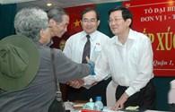 Chủ tịch Trương Tấn Sang: Chống tham nhũng đừng sợ trù úm