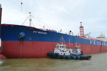 Tàu chở dầu lớn nhất Việt Nam bị trả lại do chưa đạt chuẩn