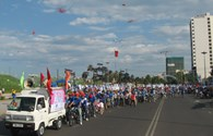 Hơn 2.000 người đạp xe diễu hành vì một Nha Trang không khói thuốc