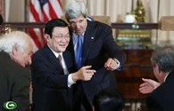 """Ngoại trưởng Mỹ ca ngợi """"mối quan hệ đối tác phi thường"""" với Việt Nam"""