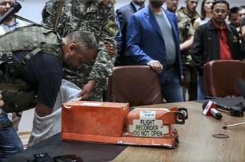 Dữ liệu hộp đen MH17 cho kết quả ứng với một vụ nổ tên lửa
