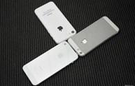 Ngắm mô hình iPhone 5S và 5C bên cạnh iPhone 5