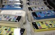 1,2 triệu chiếc iPhones mới (5C, 5S) đã cập bến nước Mỹ