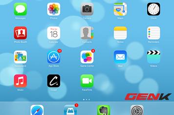 Cảm nhận sơ bộ iOS 7 phiên bản chính thức trên iPhone 4,4S và iPhone 5