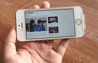 Trên tay iPhone 5S vừa về đến Hà Nội