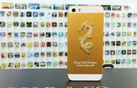 iPhone 5s khảm rồng vàng nguyên khối 88 triệu đồng tại Việt Nam