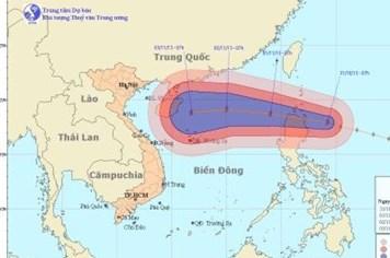 Bão số 12: Lộ trình và thời gian đổ bộ vào biển Đông của bão Krosa
