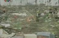 Bão số 14: Video siêu bão Haiyan tàn phá Phillipines