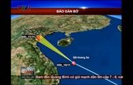 Bão số 14 hướng vào Thanh Hóa - Nam Định