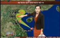 Bão số 14: Bản tin mới nhất về đường đi và vị trí siêu bão Haiyan