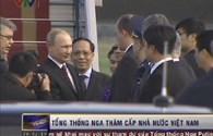 Bản tin video: Đón Tổng thống Nga V.Putin tại sân bay Nội Bài
