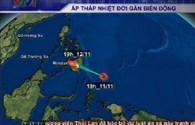 Bản tin video: Xuất hiện áp thấp nhiệt đới mới gần biển Đông