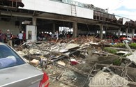 Tacloban: Hàng nghìn người mệt mỏi, đói khát tập trung ở sân bay chờ di tản