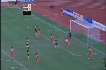 SEA Games 27: Clip tình huống suýt thua của U.23 Việt Nam trước U.23 Malaysia ở phút 14