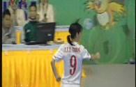 Trực tiếp futsal nữ: Clip Thùy Trang ghi bàn mở tỉ số cho đội tuyển Việt Nam
