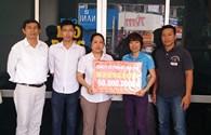 Công ty CP Dệt may 29/3: Ủng hộ đồng bào miền Trung bị lũ lụt