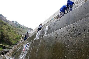 Nứt đập thuỷ điện Sông Tranh 2