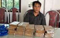 Bắt đối tượng buôn bán 22 bánh heroin và 12.000 viên hồng phiến