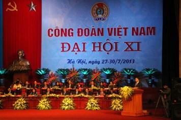 Đồng chí Đặng Ngọc Tùng tái đắc cử Chủ tịch Tổng LĐLĐVN khóa XI
