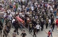 """Vụ """"mang quan tài diễu phố"""" ở Vĩnh Phúc: Xuất hiện nhiều tình tiết mới"""