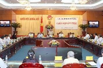 Ủy ban Dự thảo sửa đổi Hiến pháp 1992 họp phiên thứ 8