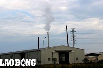 Nhà máy sản xuất bột cá tại Quảng Trị: Vẫn đỏ lửa, tiếp tục xả thải gây ô nhiễm