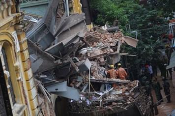 Thông tin mới vụ sập căn biệt thự Pháp cổ tại 107 Trần Hưng Đạo, Hà Nội