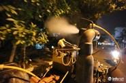 Tổng phun hóa chất diệt muỗi trên toàn TP Hà Nội từ ngày 14.8