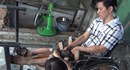 Xót ruột hoàn cảnh người công nhân bị điện giật ngã từ trên cao xuống đất