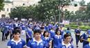 5000 người hừng hực khí thế đi bộ hưởng ứng lễ xuất quân SEA Games 29