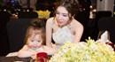Ngắm mẹ con Elly Trần – Cadie diện đồ đôi xinh trong tiệc sinh nhật